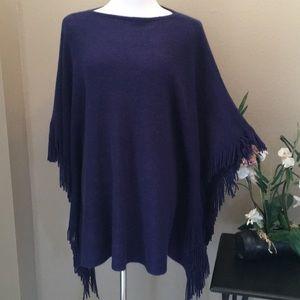Marvelush Acrylic Poncho/Sweater